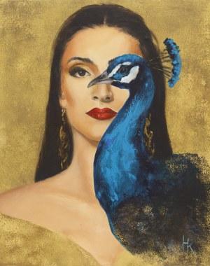 Khrystyna Hladka, Królowa ptaków III, 2020