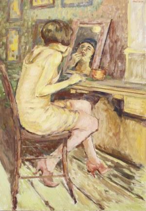Piotr Pachecki, Kobieta przed lustrem, 2020