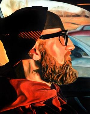 Szymon Kurpiewski (ur. 1984), Afternoon car-ride, 2020