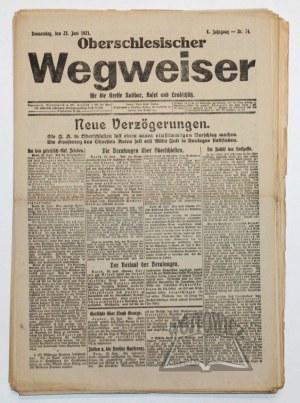 OBERSCHLESISCHER Wegweiser für die Kreise Ratibor, Kosel und Leobschütz.