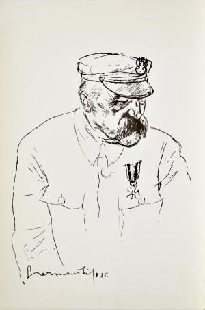 Zdzisław Czermański (1900-1970), Szkic portretowy