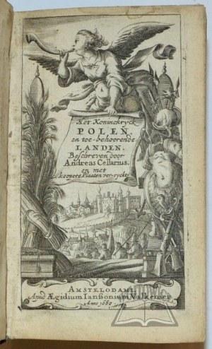 CELLARIUS Andreas, (POLSKA), Het Koninckrijck Poolen en toebehoorende Landen.
