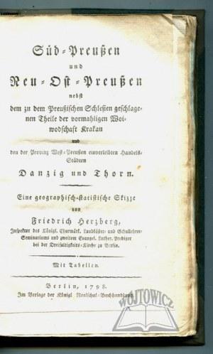 HERZBERG Friedrich, Süd-Preußen und Neu-Ost-Preußen.