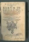 (ISSELT Michael) Jansonius Doccomensis, Mercurii Gallobelgici: sive, rerum in Gallia et Belgio potissimum: