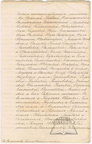 MIKOŁAJ I (1796 - 1855), car Rosji, król Polski.