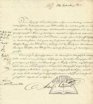 RADZIWIŁŁ Antoni (1775 - 1833), namiestnik W. Księstwa Poznańskiego, kompozytor