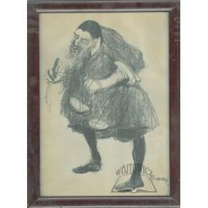 KUCZBORSKI Stanisław (1870-1911), Józef Kotarbiński jako Scheylock w sztuce Szekspira Kupiec wenecki.