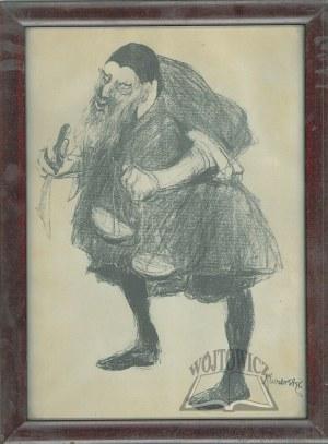 KUCZBORSKI Stanisław (1870-1911), Józef Kotarbiński jako Scheylock w sztuce Szekspira