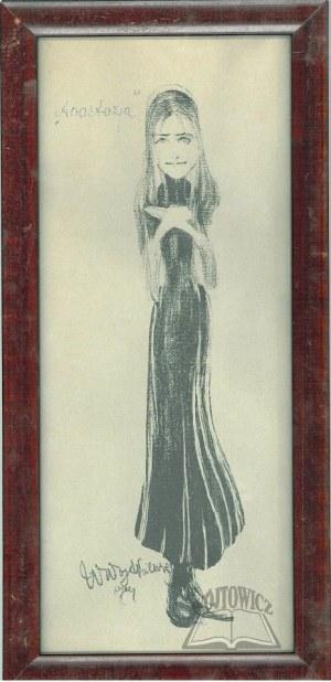 WOJTKIEWICZ Witold (1879-1909), Anastazja. (Jadwiga Morozowska w sztuce Adolfa Walewskiego według opowiadania Elizy Orzeszkowej).