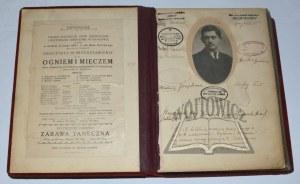 (ALBUM fotografii aktorów sztuk teatralnych z lat 1905 - 1933).