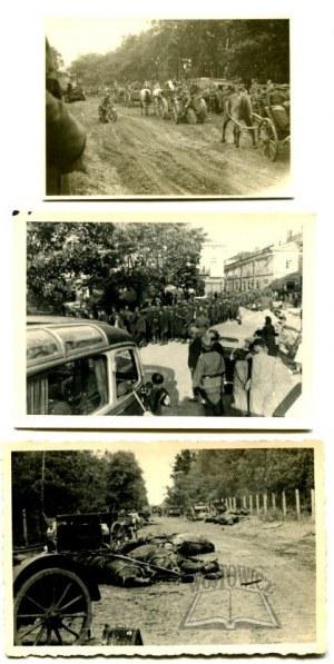 WOJNA 1939 r. Pobojowisko, kapitulacja, jeńcy.