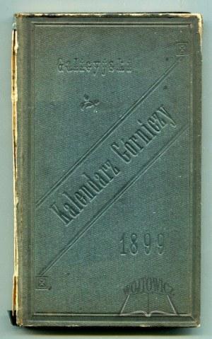 GALICYJSKI kalendarz górniczy na rok 1899.