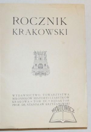 ROCZNIK Krakowski.