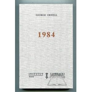 ORWELL George, 1984.