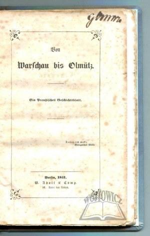 (CASSEL Paulus), Von Warschau bis Olmütz.