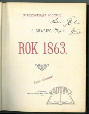 (DĄBROWSKI Józef). J. Grabiec, Rok 1863.