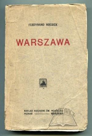 HOESICK Ferdynand, Warszawa.