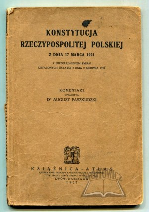 KONSTYTUCJA Rzeczypospolitej Polskiej.