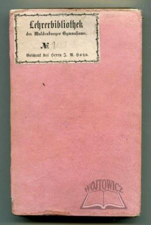 BRAND Theodor, Schlesischer Musen - Almanach 1829.