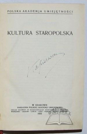 KULTURA Staropolska.