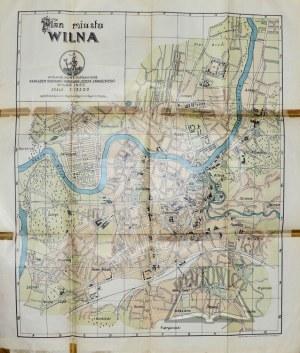 (WILNO) Plan miasta Wilna.