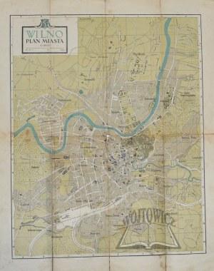 WILNO. Plan miasta.