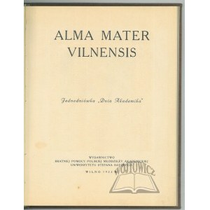 ALMA Mater Vilnensis.