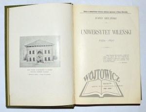 BIELIŃSKI Józef, Uniwersytet Wileński (1579-1831)