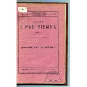 GŁOSY z nad Niemna 1917 r.