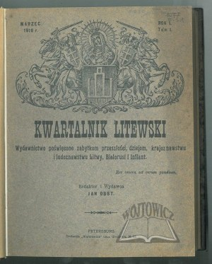 KWARTALNIK Litewski.