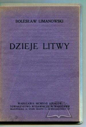 LIMANOWSKI Bolesław, Dzieje Litwy.