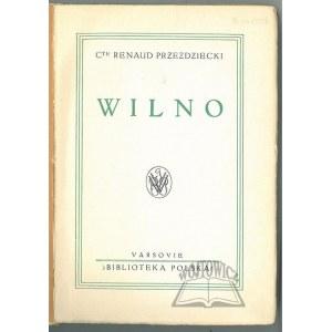 PRZEZDZIECKI Renaud Comte, Wilno.