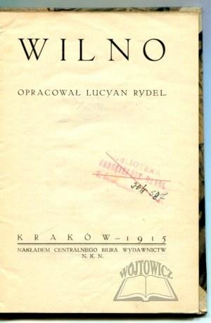 RYDEL Lucyan, Wilno.