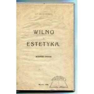SIESTRZEŃCEWICZ S. B., Wilno i estetyka.