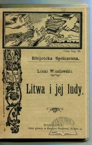 WASILEWSKI Leon, Litwa i jej ludy.