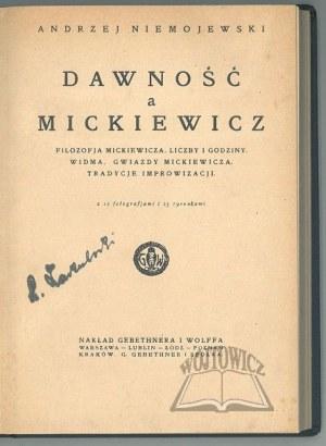 NIEMOJEWSKI Andrzej, Dawność a Mickiewicz.