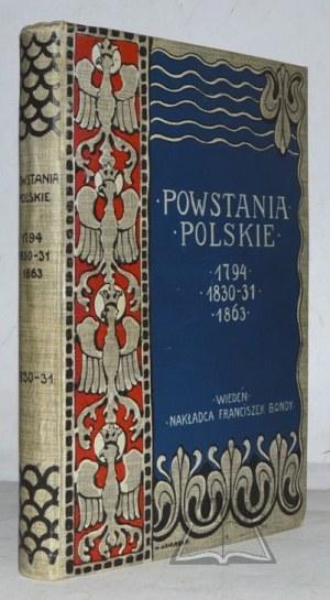 POWSTANIA Polskie. SOKOŁOWSKI August, Dzieje Powstania Listopadowego 1830 - 1831.