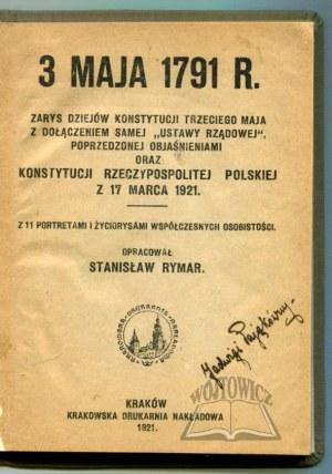 RYMAR Stanisław, 3 maja 1791 r.