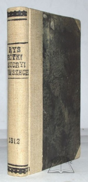 (SAWICKI Stefan), Rys krótki chronologiczny historyi powszechney do roku 1812.