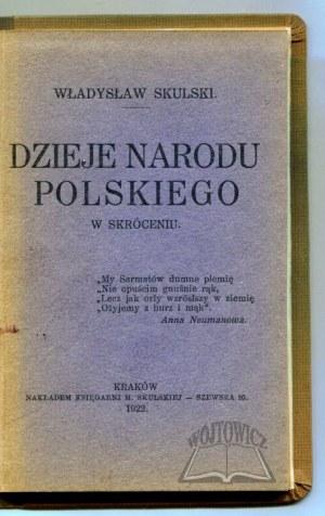 SKULSKI Władysław, Dzieje narodu polskiego w skróceniu.