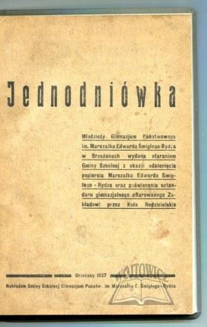 JEDNODNIÓWKA młodzieży Gimnazjum Państwowego im. Marszałka Edwarda Śmigłego-Rydza w Brzeżanach.