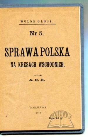 SPRAWA Polska na kresach wschodnich.