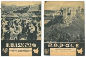 ZBIÓR przewodników Wydawnictwa Ligi Popierania Turystyki.