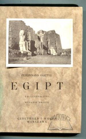 GOETEL Ferdynand, Egipt.