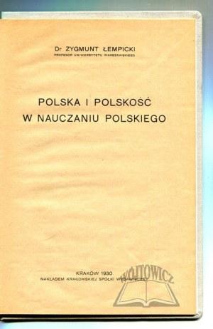 ŁEMPICKI Zygmunt, Polska i polskość w nauczaniu polskiego.
