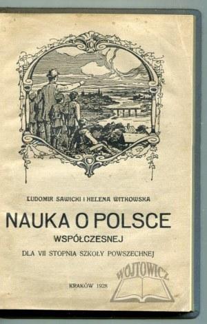 SAWICKI Ludomir, Witkowska Helena, Nauka o Polsce współczesnej.