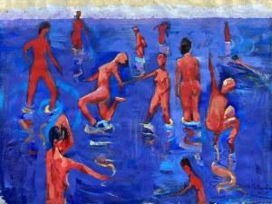 David Pataraia, Radość kąpieli, 2020