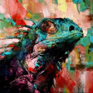 Grażyna Mucha, Iguana