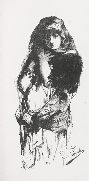 Franciszek ŻMURKO (1859-1910), Tancerka