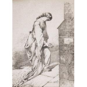 Feliks SZYNALEWSKI (1825-1892), Przed świątynią